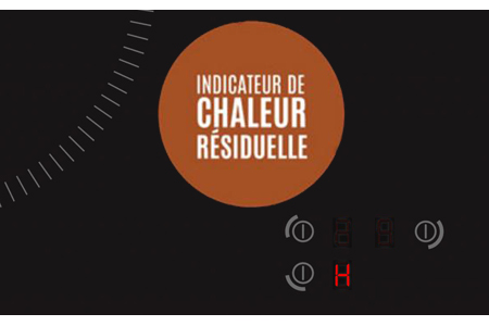 Plaque induction Brandt indicateur de chaleur