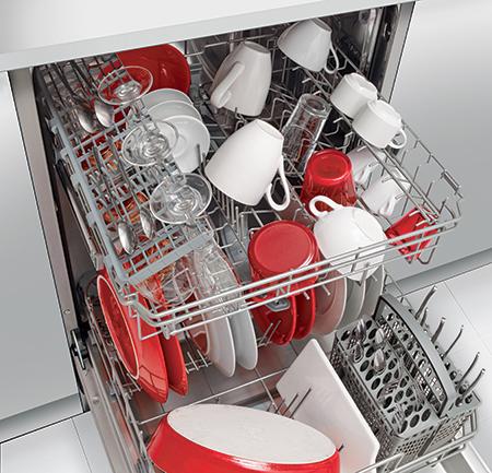 Lave-vaisselle VH1235J vue intérieure