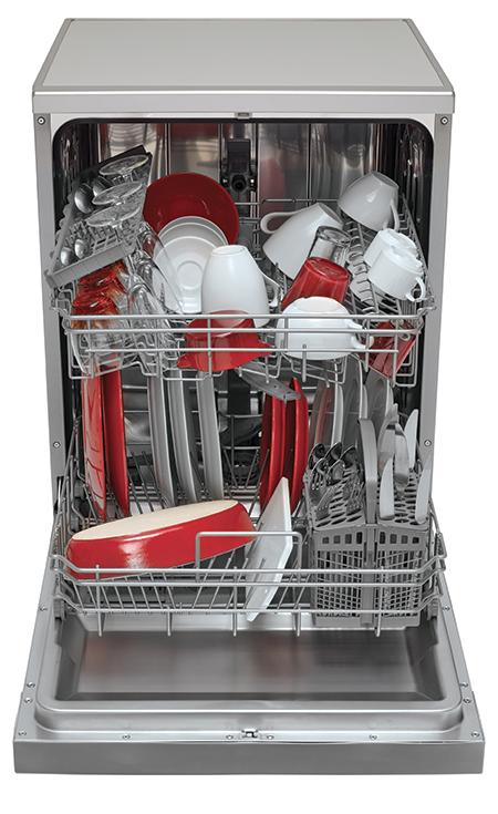 Lave-vaisselle vue intérieure