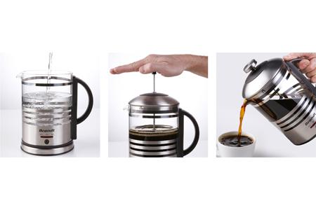 Cafetière électrique à piston CAF100PX