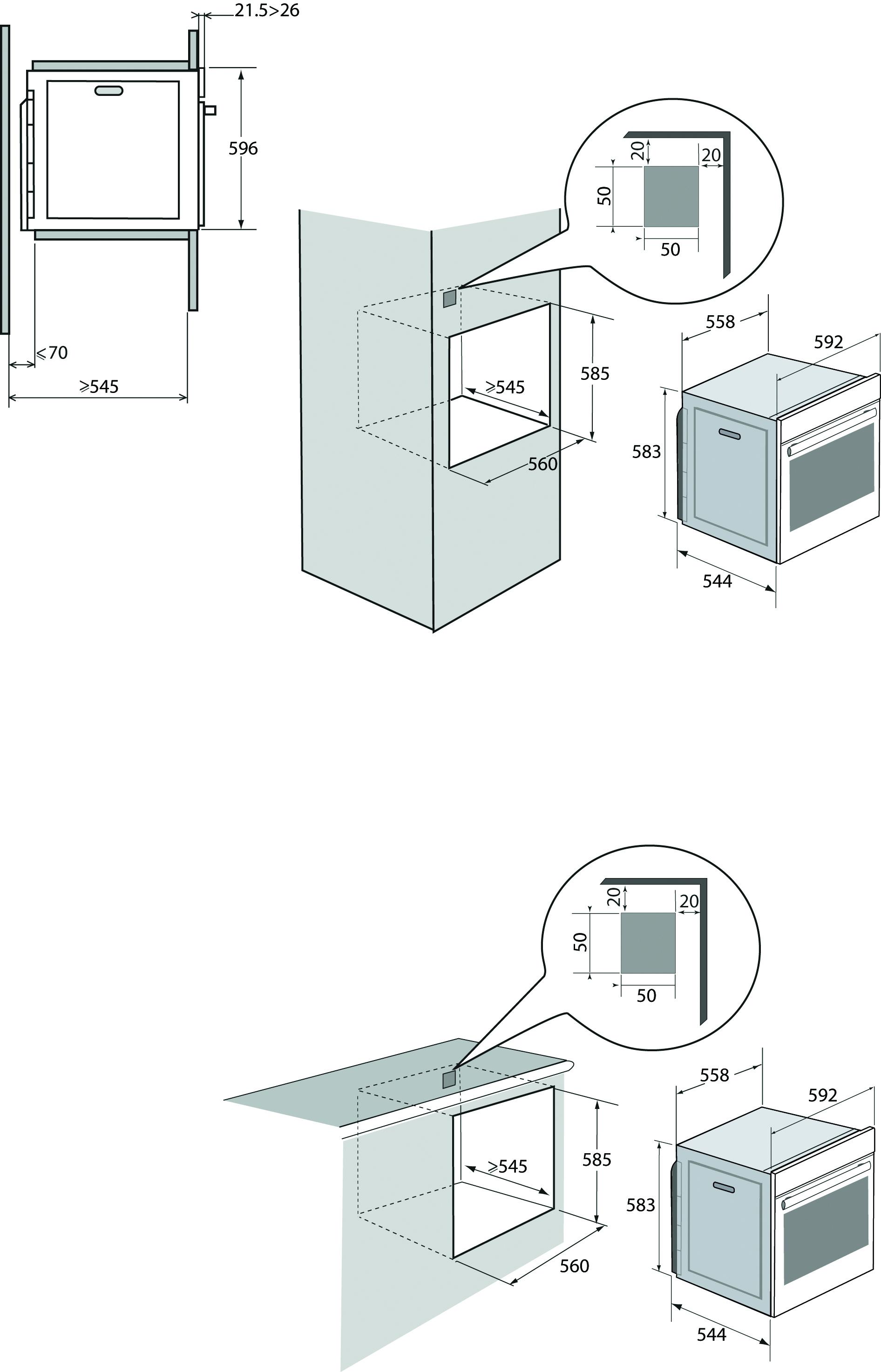 bxp6555x brandt electrom nager. Black Bedroom Furniture Sets. Home Design Ideas