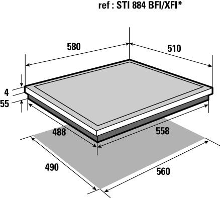 bpi6315b brandt electrom nager. Black Bedroom Furniture Sets. Home Design Ideas