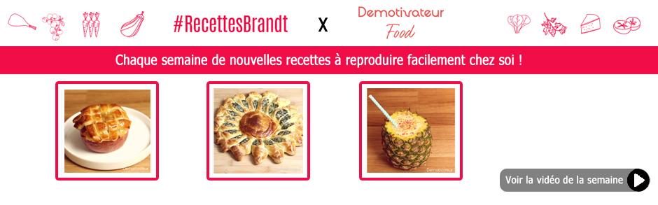 RecettesBrandt x Demotivateur